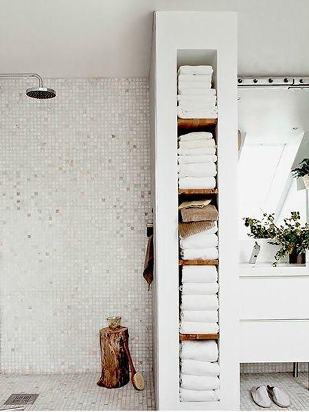 17 mejores ideas sobre decoraci n de la toalla de ba o en for Accesorios para poner toallas en el bano