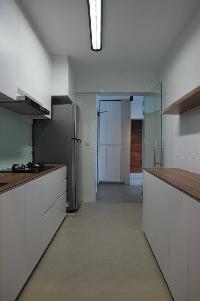 hdb kitchen cabinet hdb 4 room bto lush interior design singapore interior 16233
