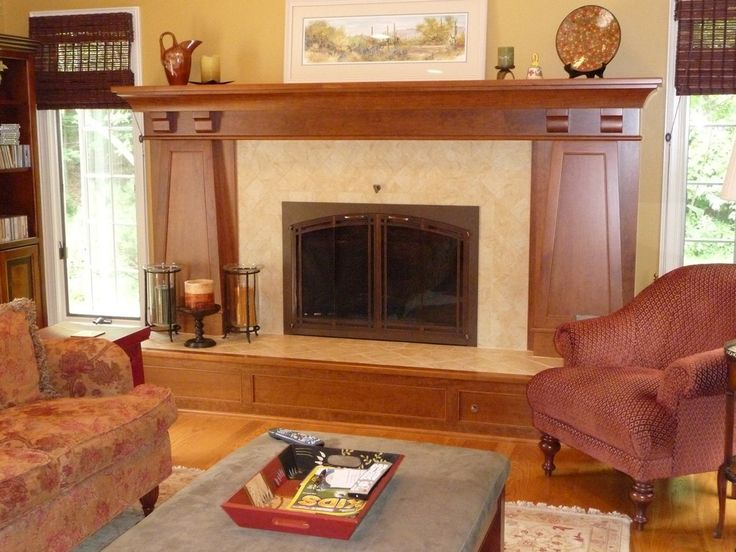 34 best Fireplace images on Pinterest   Craftsman fireplace ...