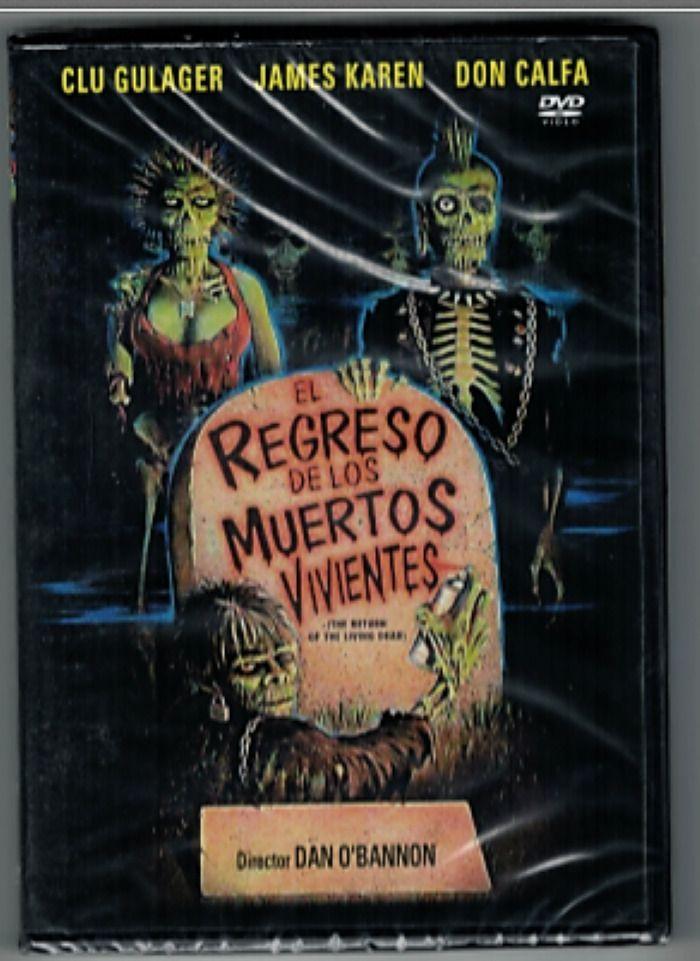 El Regreso De Los Muertos Vivientes Dvd Muertos Vivientes Muerte Dvd