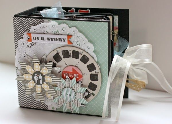 My Creative Scrapbook: How to Make a Mini Album Spine by Angel Rodrigue