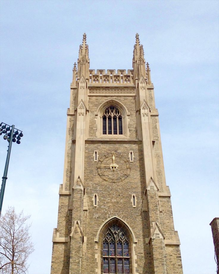 The University of Toronto:  With Hogwarts-esque buildings like Soldiers' Tower, how can you not pay the university a visit? Soldiers' Tower is a bell and clock tower at the University of Toronto, making it the only Canadian university with a functioning carillon.