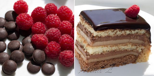 All about cakes: Шоколадно-малиновый торт