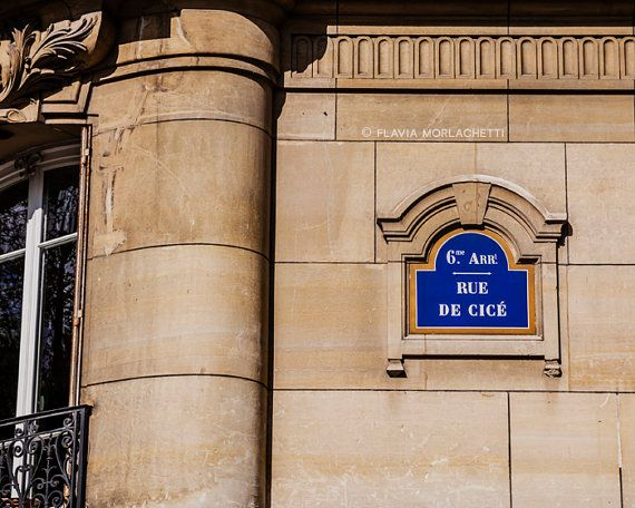Rue de Cicé Paris photography France fine art by FlaviaMorlachetti