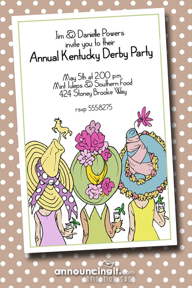 64 best Kentucky Derby images on Pinterest | Themed bachelorette ...