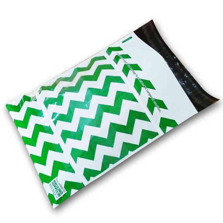 Now available Blue Chevron Premium Printed Courier Bags Online.