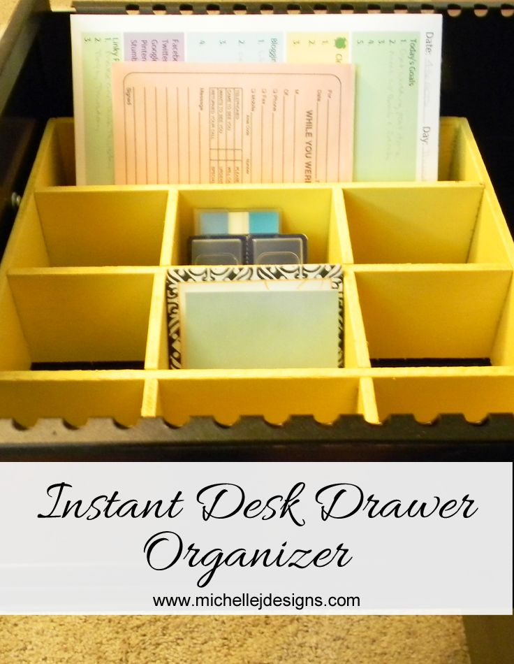 1000 ideas about desk drawer organizers on pinterest. Black Bedroom Furniture Sets. Home Design Ideas