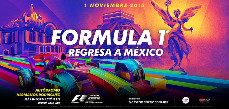 Formula 1 Gran Premio de Mexico en vivo