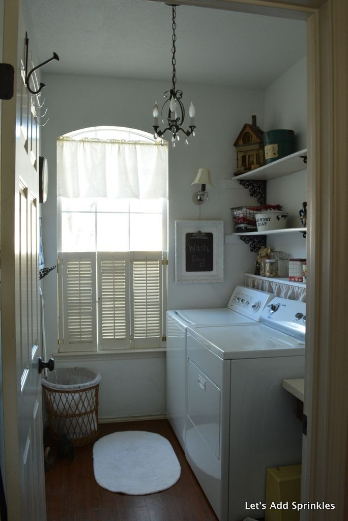 81 Best Cute Laundry Rooms Images On Pinterest Bathroom