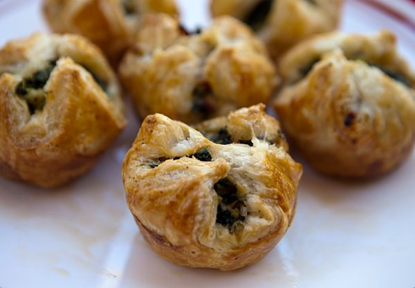 Spinach Puffs via Italian Food Forever