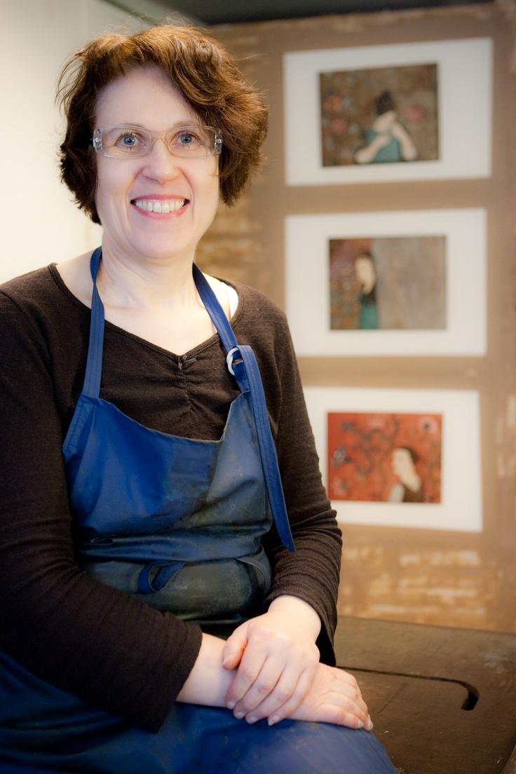 Kirsi Neuvonen, a Finnish printmaker (born 1960)