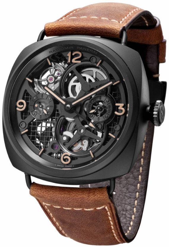 Panerai skeleton watch