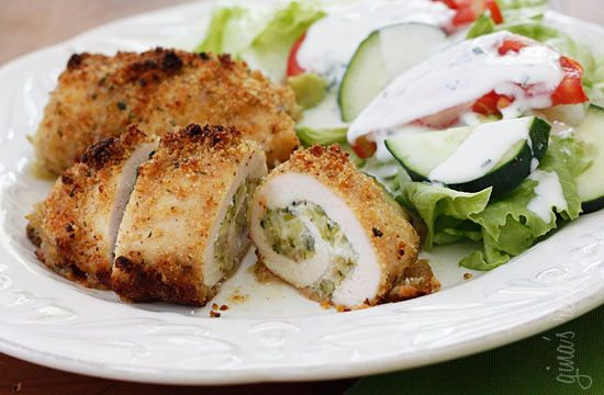 chicken stuffed with zucchini... sounds good