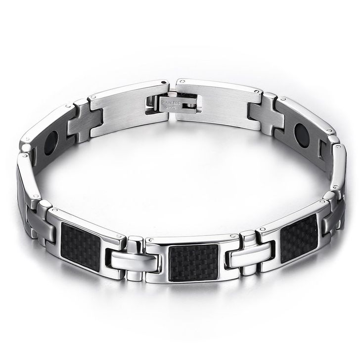 StarryJewelry Lady's Titanium Magnetic Bracelet in a Nice Gift Box, Anti-fatigue, Pain Relief -BR255