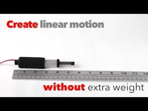 Morai Motion Inline Nexus Micro Linear Actuator 1 Inch Stroke