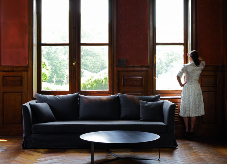 Interni edition wave furniture sofa with interni for Casa malaparte interni