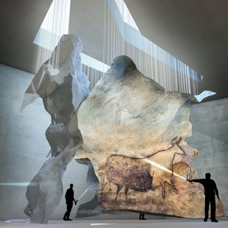 Lascaux IV: Σπήλαιο Κέντρο Ζωγραφική με Snøhetta, Duncan Lewis και Casson Mann