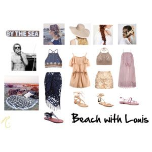 Beach with Louis