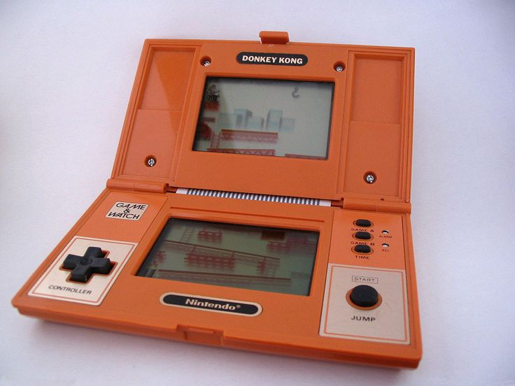 Nintendo Donkey Kong - I always wanted this!! (plus the linked blog is eerie! They write they had the popeye game, that was what I had and actually still have but they also have a card game I played a lot as a kid - they say it is Japanese. I knew it as Korean :) )