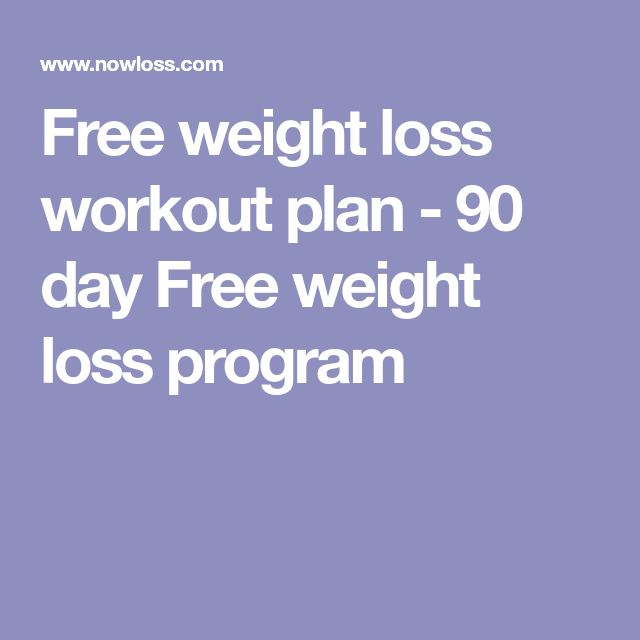 Image Result For Free Weight Loss Workout Plan Nowloss Com