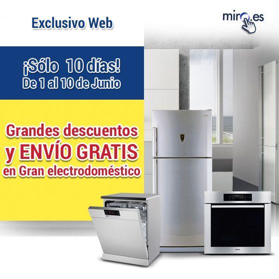 #FelizLunes Empieza la semana con #ofertas #descuentos y muchas más ventajas que obtendrás comprando en www.miro.es