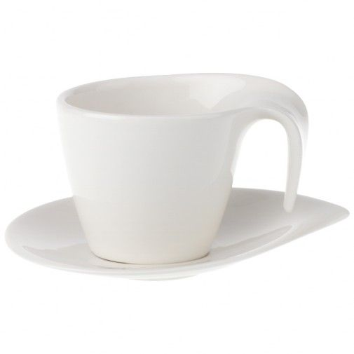 Villeroy & Boch Flow Breakfast cup and saucer 2pcs-01