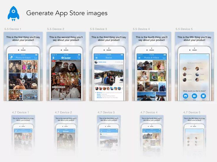 App store screenshot generator sketch unixpaint store