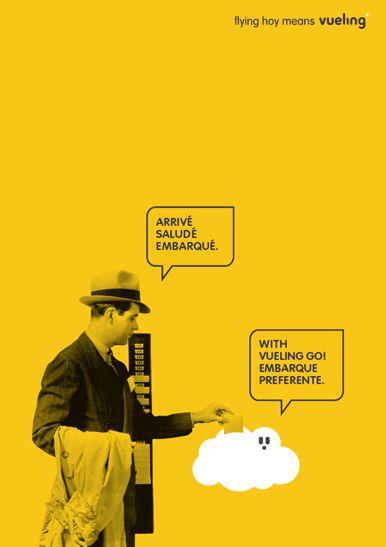SCPF, la agencia de Toni Segarra, ha diseñado una campaña para Vueling titulada…