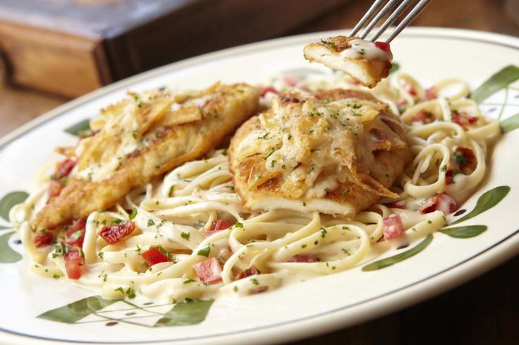 Olive Garden Copycat Recipes: Potato Parmesan Chicken
