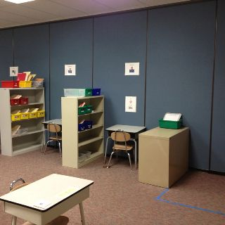 Structured teaching classroom - upper elementary