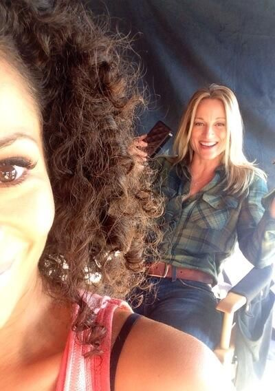Teri Polo & Sherri Saum ~ On location filming #TheFosters Season 1B