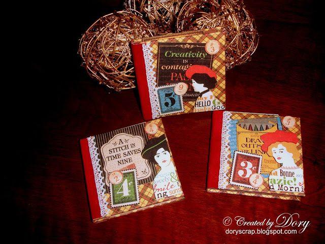 L'Angolo Creativo di Dory: Mini album One Sheet 3x3 & 4x4