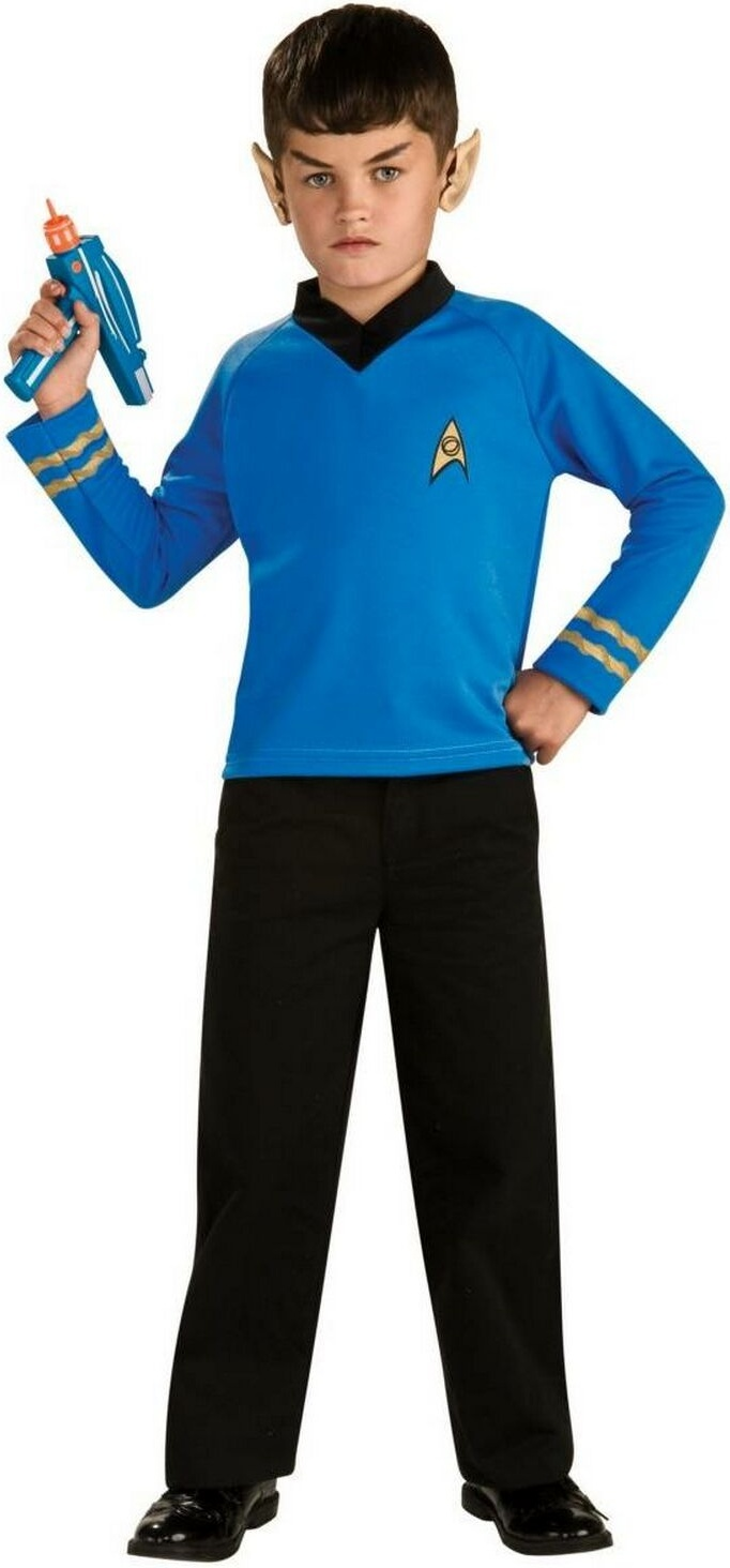 22 best star trek images on pinterest costume ideas adult star trek classic blue shirt movie costume child costume includes a blue long sleeved shirt with black trim the star fleet emblem and two gold bands buycottarizona