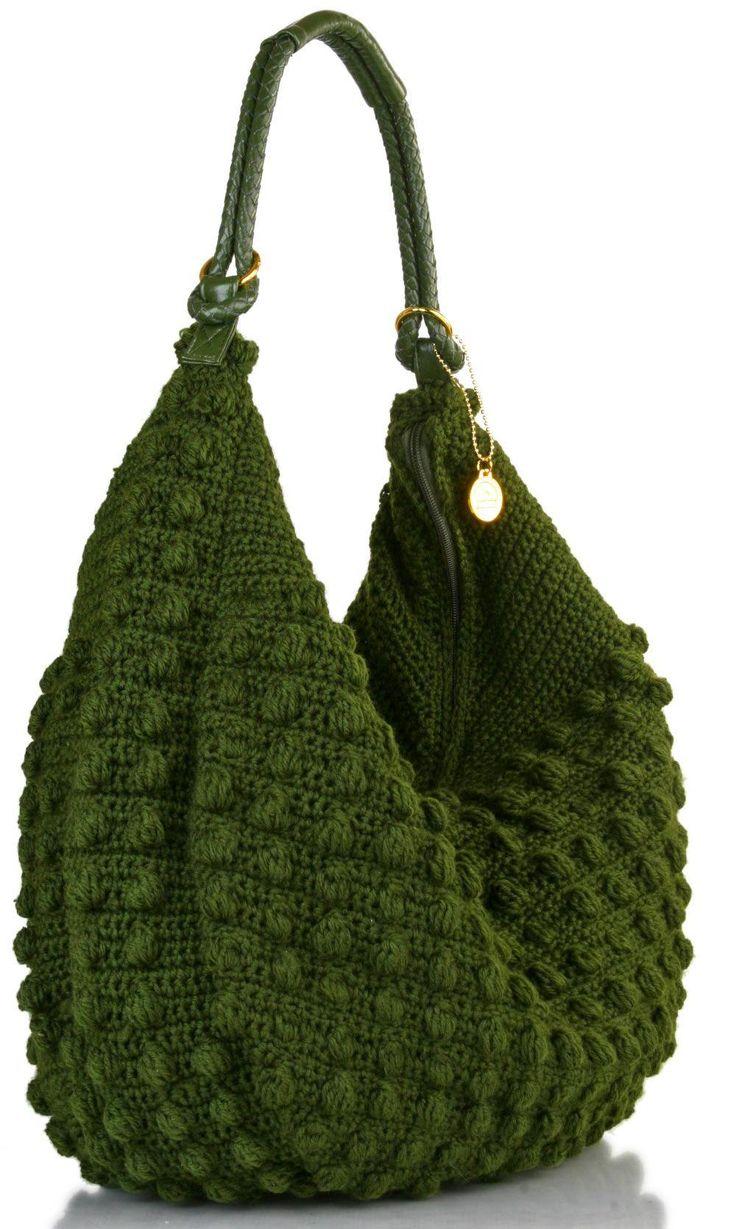 buen diseño cartera crochet