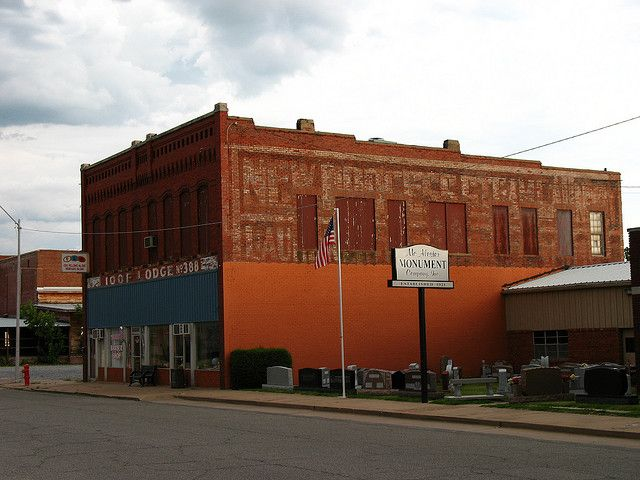 images of McAlester , Oklahoma | Ghost sign, McAlester, Oklahoma