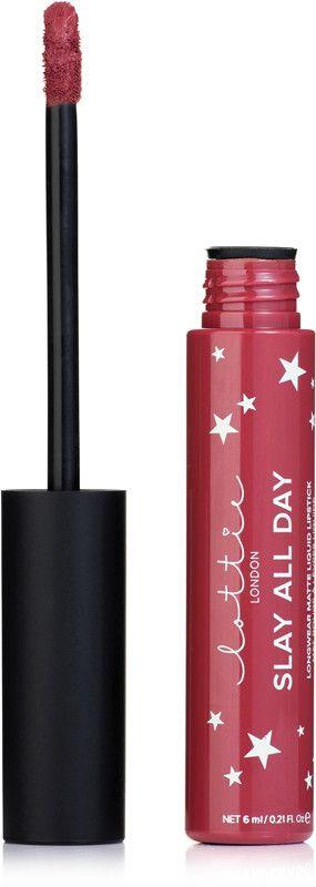 Lottie London Slay All Day Longwear Matte Liquid Lipstick - Low Key