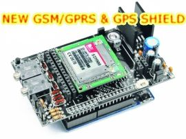 GSM GPS shield for Arduino
