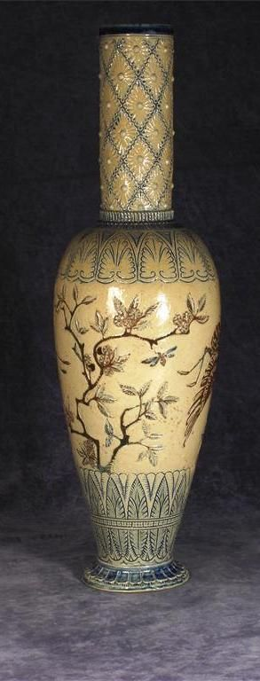 Martin Brothers Victorian/Aesthetic Movement Stoneware Pottery