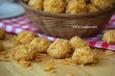 Resepi Biskut Keju Cornflakes / Cornflakes Cheese Cookies | Resipi Citarasawan