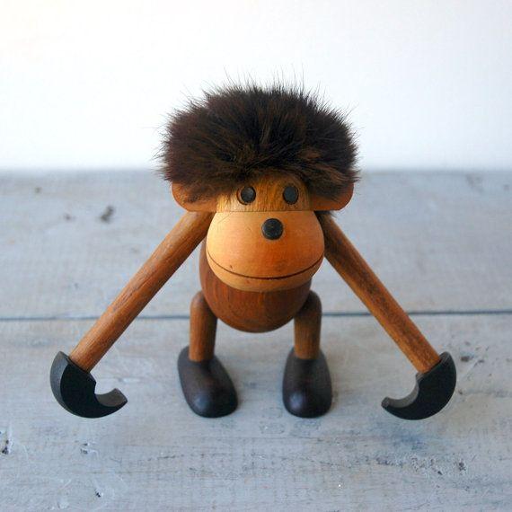 Little Ape Toy by designer Kay Bojesen