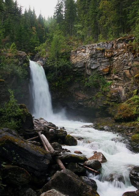 Blanket Falls, Revelstoke, BC.