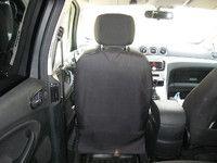 Накидка на спинку переднего сидения цвет чёрный TP-NAK1-BL