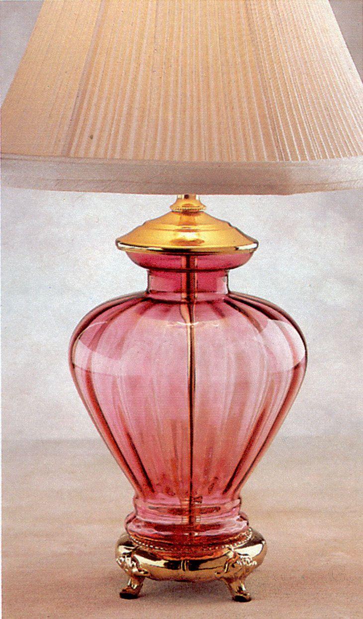 Victorian Cranberry Glass Lamp Cranberry Pinterest