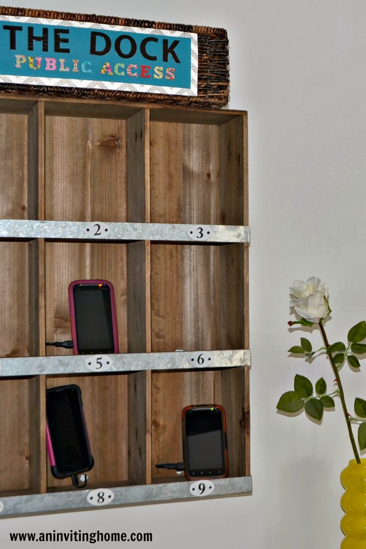 Top 14 Ideas About Charging Stations On Pinterest