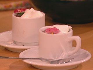 Chocolate Cups With Whipped Cream (pots De Creme)