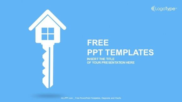 Free Real Estate Key Powerpoint Template Property Is Always A Nice Investment To Have In The Modern World Be Powerpoint Templates Powerpoint Free Ppt Template
