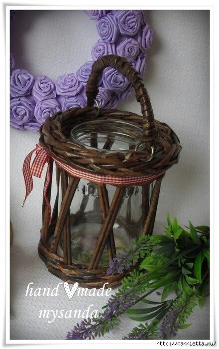 Jar in Basket