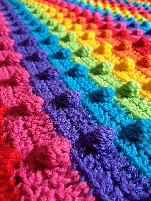 crocheted color love ♥