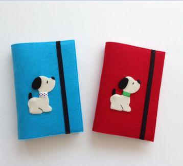 Sevimli Köpekler Kitap Kılıfları
