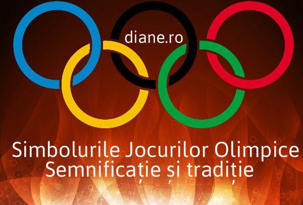 Care sunt simbolurile jocurilor olimpice